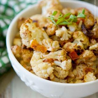 Mediterranean Roasted Cauliflower Recipe