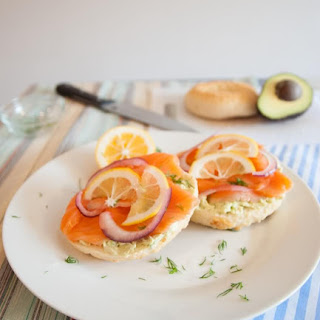 Lox & Avocado Cream Cheese