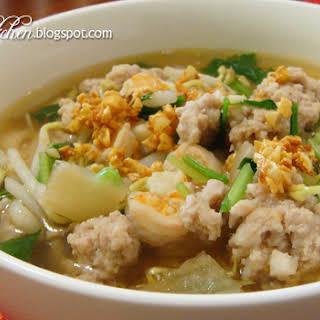 Mee Sua Soup.