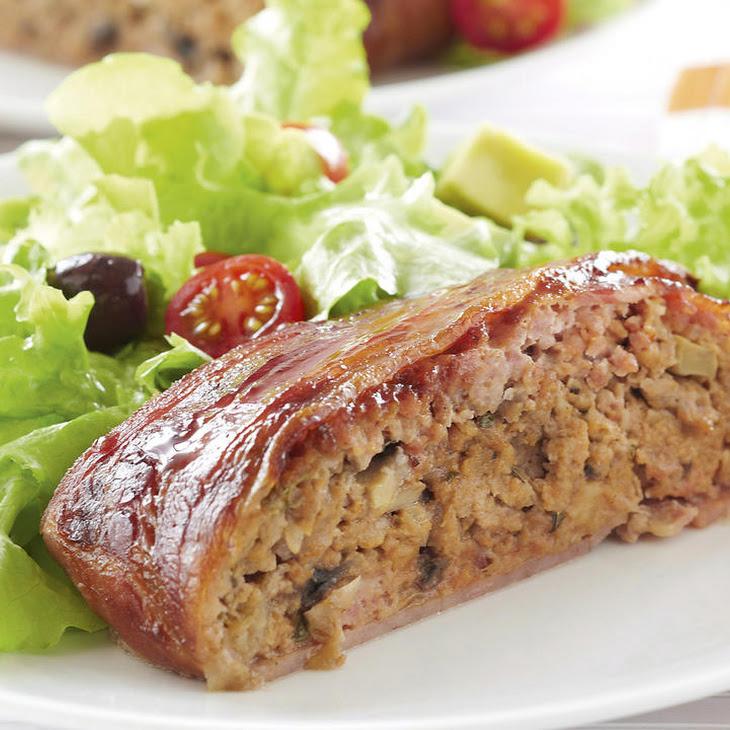 Bacon-Wrapped Pork Meatloaf