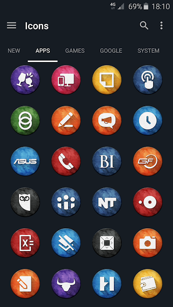 Marvak - Icon Pack - tela capturada
