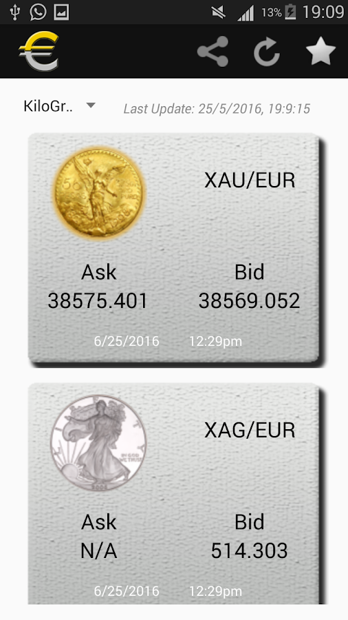 Euro Gold & Euro Silver- screenshot