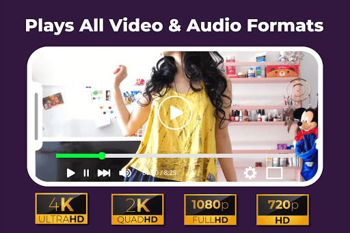Video Player for Android: All Format Video Player 2.4.2 screenshots 4