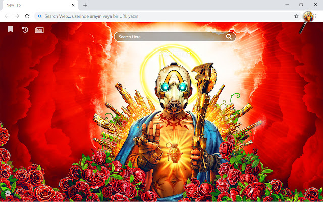 Borderlands 3 HD Wallpapers New Tab Theme