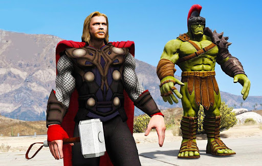 Grand Avenger City Superhero 1.0 screenshots 7