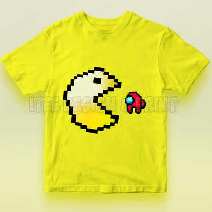 Pac-Man Game Among Us Impostor 6