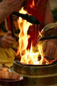 Agni Prasthithapam, Raising of fire