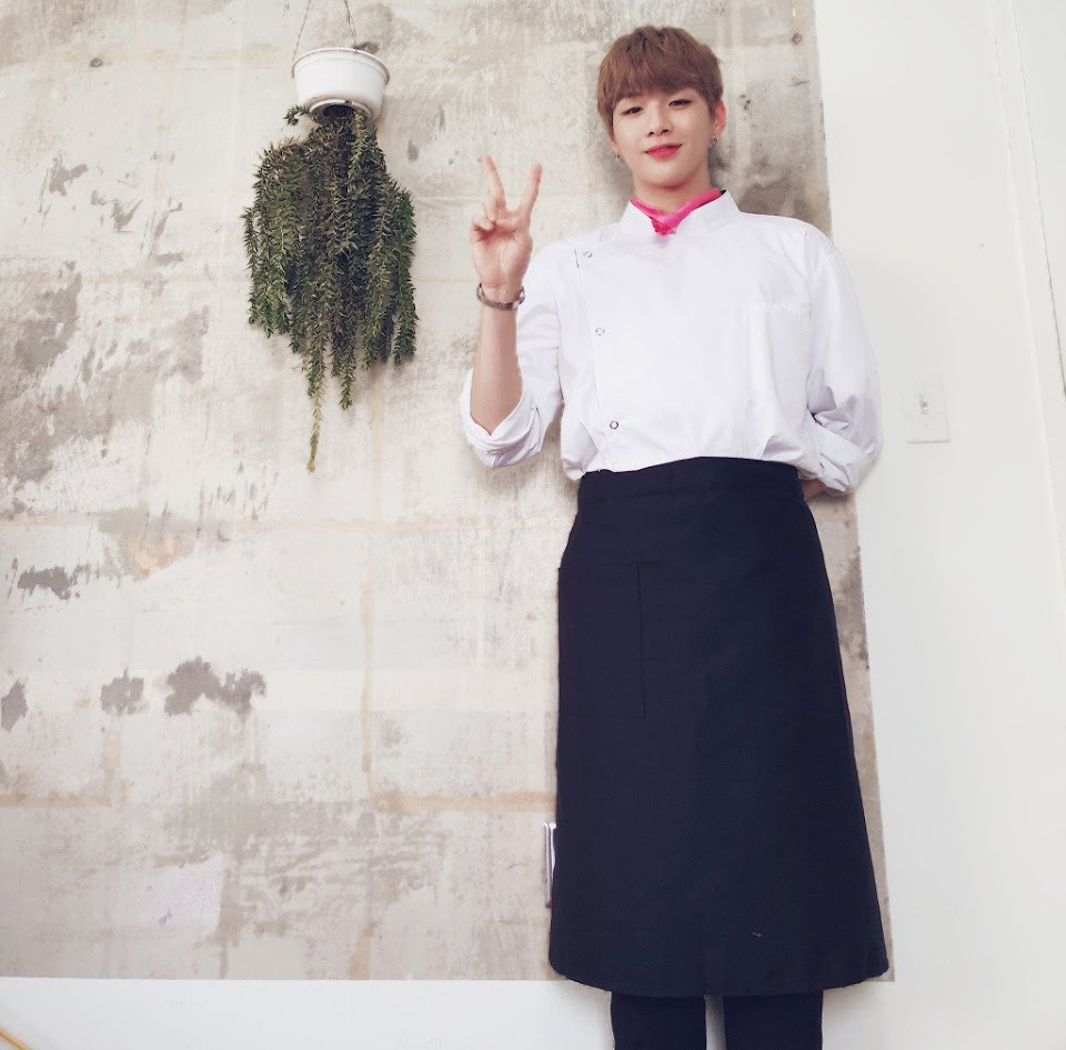 kang daniel cooking hobby 5