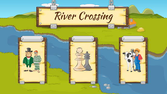 River Crossing IQ Logic Puzzles & Fun Brain Games - náhled