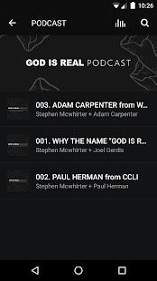 GOD IS REAL Stephen Mcwhirter - náhled
