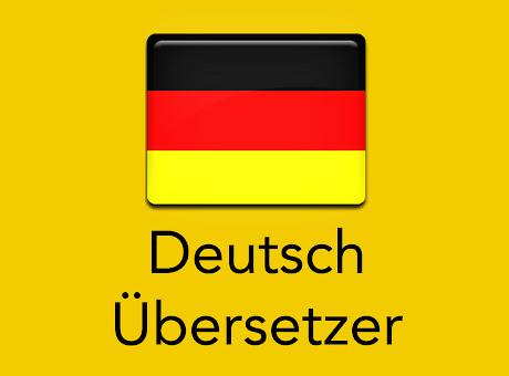 Deutsch Übersetzer