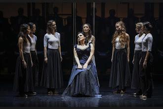 Photo: BRATISLAVA: LA DAMNATION DE FAUST (Berlioz), 27.10.2016. Anna Ryan und Chor
