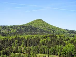 """Photo: Das ist der ,,Die Lausche Berg""""."""