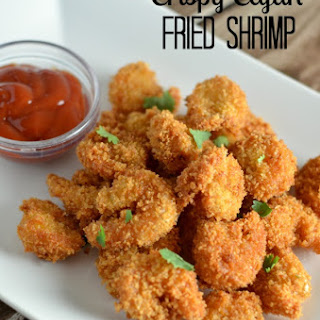 Crispy Cajun Fried Shrimp.