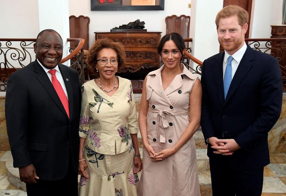 'So lekker om jou hier te hê': Ramaphosa aan koninklike egpaar nadat hulle verdwaal het - TimesLIVE