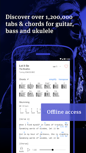 Ultimate Guitar Tabs & Chords v5.3.0 [Unlocked]