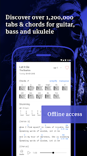 Ultimate Guitar Tabs & Chords: miniatura de captura de pantalla