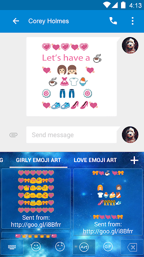 Girly Art Emoji For Shark