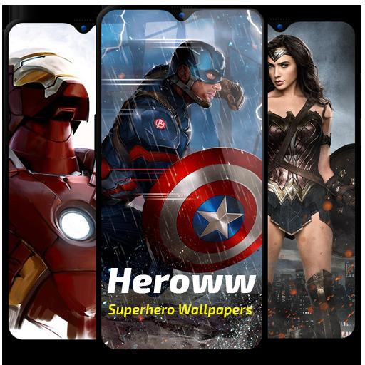 Baixar Heroww - Superhero Wallpapers - HD 2K 4K Wallpaper para Android