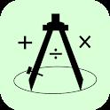 Géométrie pratique : Traçage & Calcule (Pro) icon