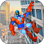 Flying Super-Hero Pacific City Rescue Mission APK icon