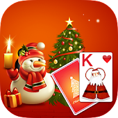 Solitaire MerryChristmas Theme