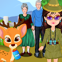 Baby Alice trip to the Zoo icon