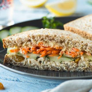 Middle Eastern Tuna Sandwich