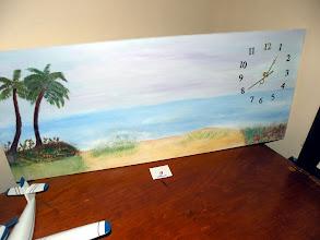 Photo: Michael's clock entry