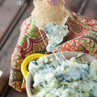 The Best Spinach Artichoke Dip.