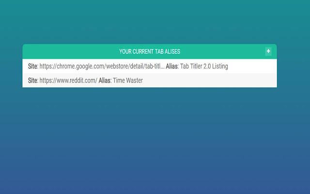 Tab Titler 2.0