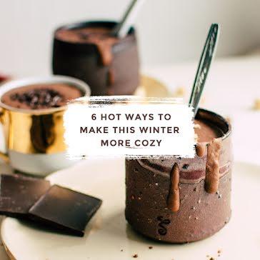 Make Winter More Cozy - Instagram Post template