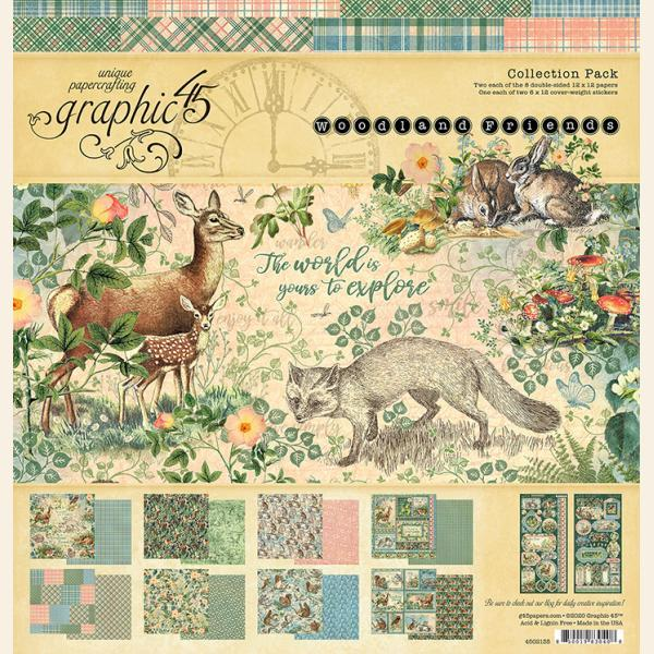 Woodland Friends 12x12 Collection Pack