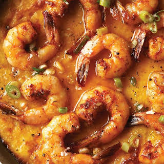 Shrimp & Cheese Grits Casserole.