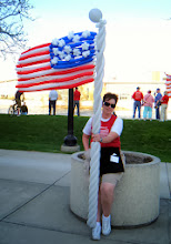 Photo: Balloon flag for Ginger & the TEA Party event at President Gerald R. Ford Museum