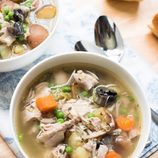 Slow Cooker Chicken and Spring Vegetable Stew