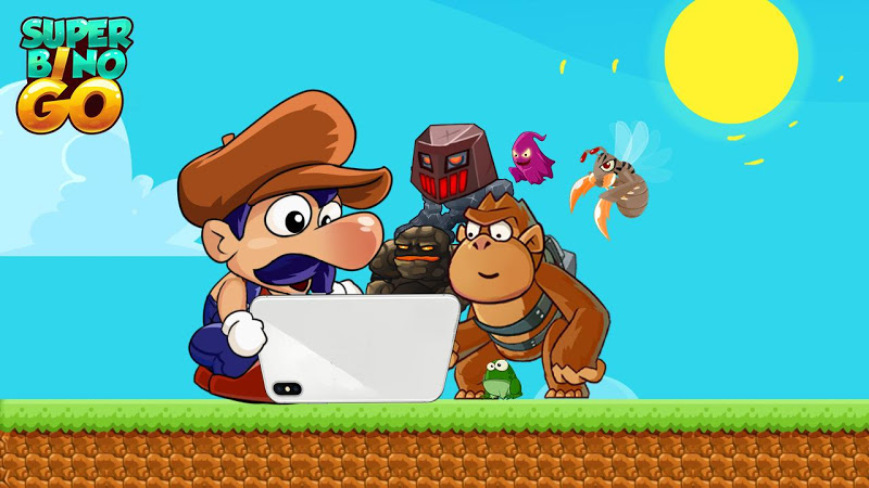 Super Bino Go - New Games 2019 Screenshot 0