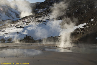 Photo: Geothermal area, south Iceland