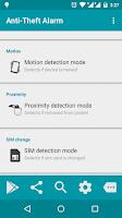 Screenshot of Anti-Theft Alarm