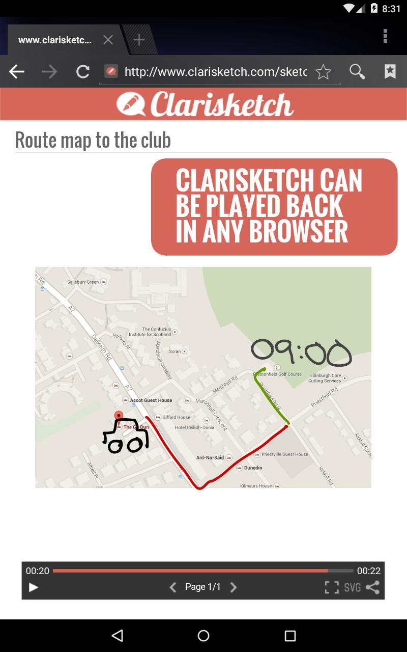 Clarisketch screenshot #7