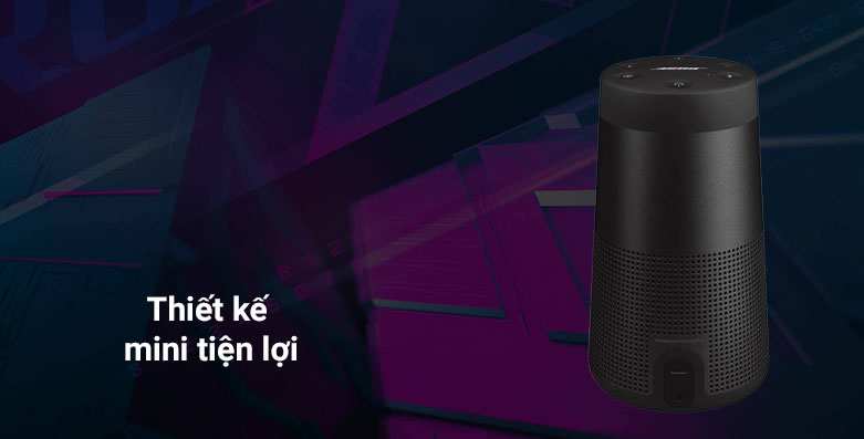 Loa Bose Soundlink Revolve II - (Đen) | Thiết kế mini tiện lợi