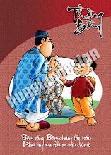 Photo: Bộ bìa tập học sinh đặc biệt mang chủ đề Thằng Bờm gồm 8 mẫu. HungLan Design vẽ và thiết kế cho Công Ty Tân Thuận Tiến. Tác giả giữ bản quyền - 2009.