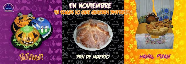 Photo: Diseño Grafico - Publicidad para facebook de Panaderia en el mes de Noviembre