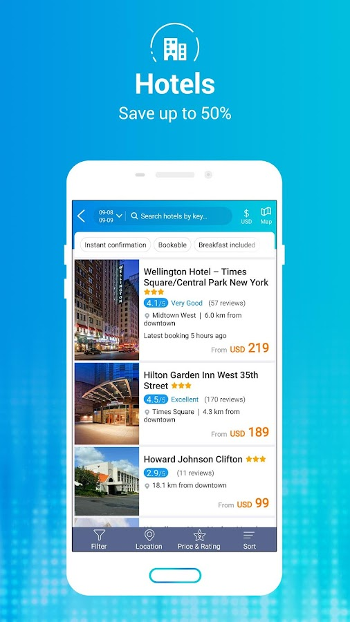 Ctrip - Hotels, Flights, Trains- screenshot
