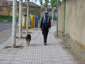 Photo: 1ére rencontre avec Maité et son chien Mabour