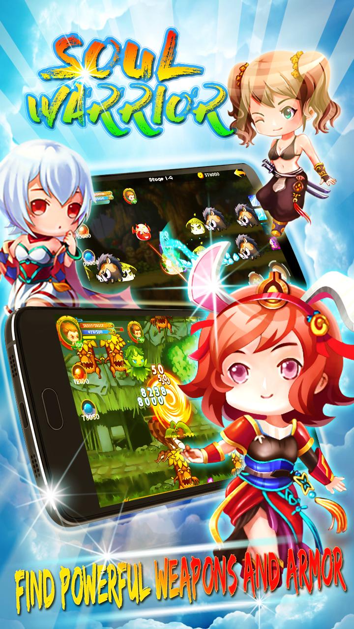 Soul Warriors \342\200\223  RPG Adventure Screenshot
