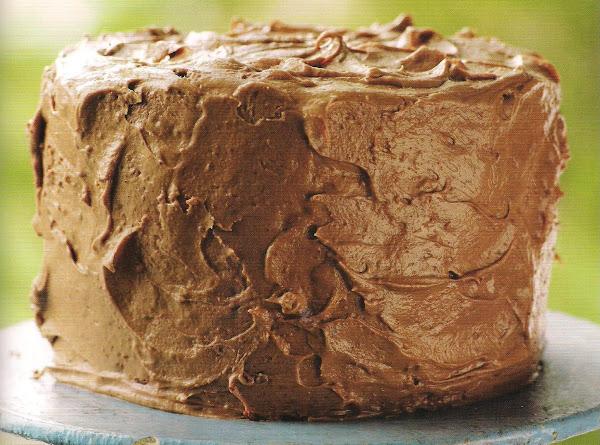 Milk Chocolate Pound Cake, Circa Recipe 1950