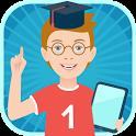 Zanimashki interactive educational activity books icon