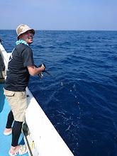 Photo: 「うおおおーっ!またキターッ!」 ・・・またキタッって、さっき海底のゴミやったやん!