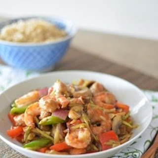 Fruity Prawn Stir Fry